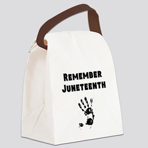 Remember Juneteenth Canvas Lunch Bag