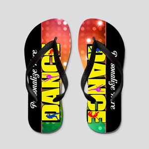 Dance Custom Flip Flops