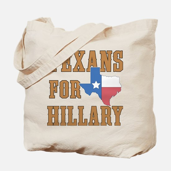 Texans for Hillary Tote Bag