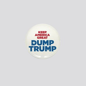 Keep America Great Dump Trump Mini Button