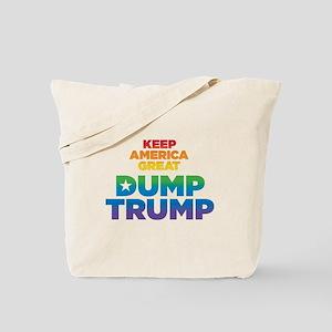 Keep America Great DUMP TRUMP Tote Bag