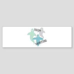 Happy Haunting Bumper Sticker
