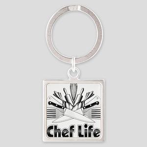 Chef Life Keychains