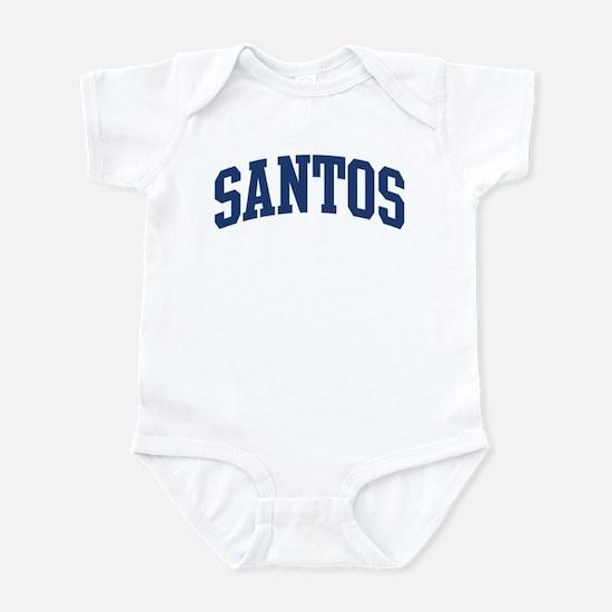 SANTOS design (blue) Infant Bodysuit