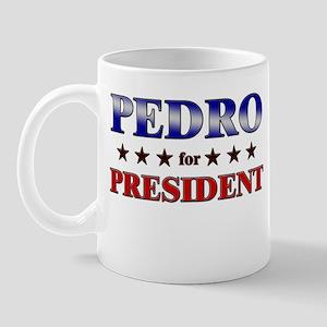 PEDRO for president Mug