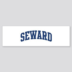 SEWARD design (blue) Bumper Sticker
