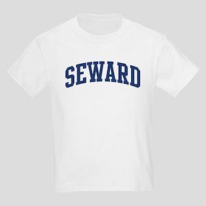 SEWARD design (blue) Kids Light T-Shirt