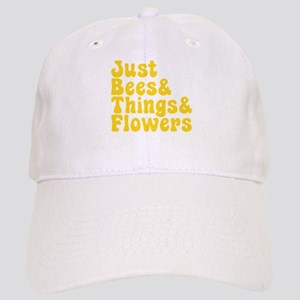 Just Bees & Things & Flowers Cap
