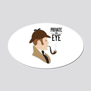 Private Eye Wall Decal