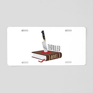 Thriller Novel Aluminum License Plate