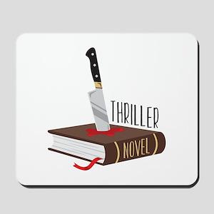 Thriller Novel Mousepad