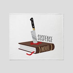 Suspense Novel Throw Blanket