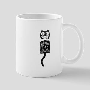 Cat Clock Mugs