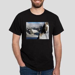 Alaska Range mountains and glacier, USA 2 T-Shirt