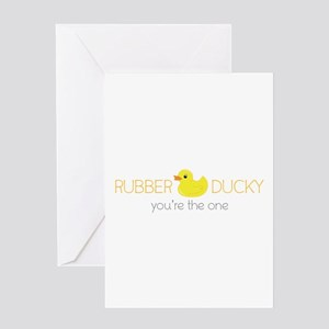 Rubber Ducky Greeting Cards