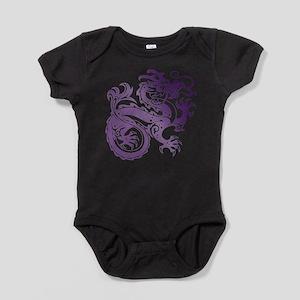Dragon Deep Purple Baby Bodysuit