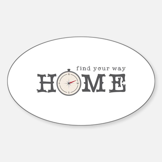 Find Way Home Decal