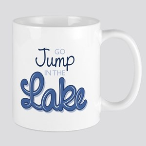 Jump In Lake Mugs