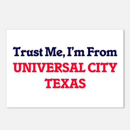 Trust Me, I'm from Univer Postcards (Package of 8)