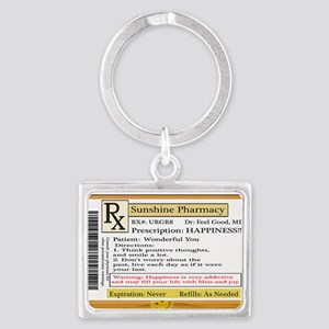 Happiness is the Best Medicine - Dr Feel Keychains