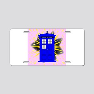 British Police Box With Abs Aluminum License Plate