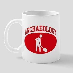 Archaeology (red circle) Mug