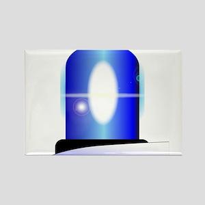 Police Blue Light Magnets