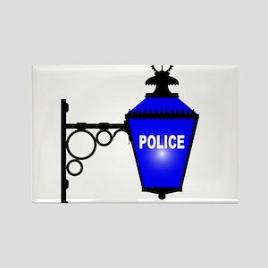 Police Station Blue Light Magnets