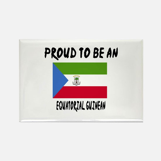 Proud To Be Equatorial Guinean Rectangle Magnet