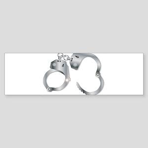 Handcuffs Bumper Sticker