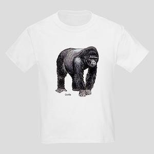 Gorilla Ape (Front) Kids T-Shirt
