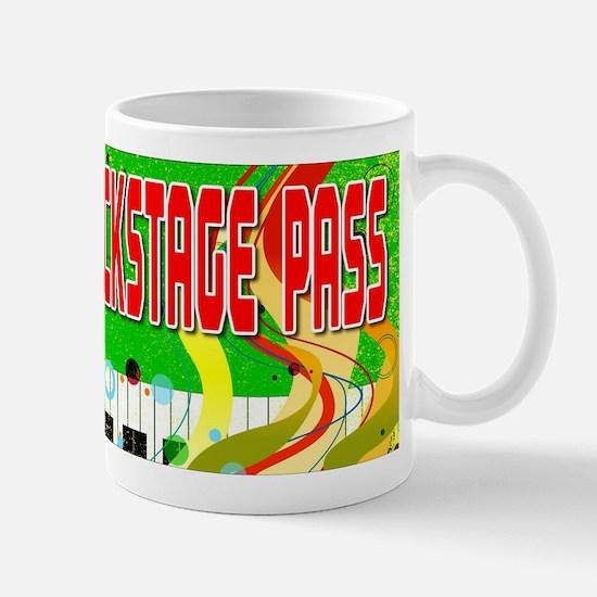 Back Stage Pass Mugs