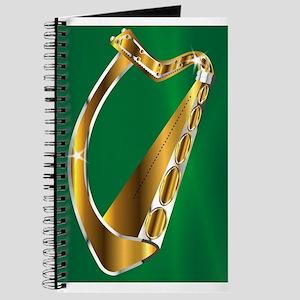 Golden Irish Harp Journal