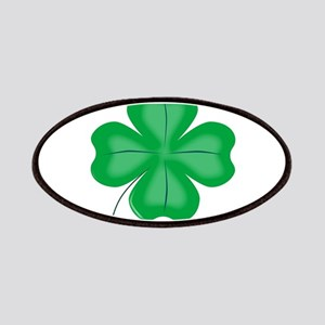 Lucky Four Leaf Shamrock Patch