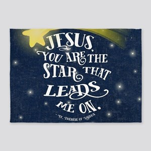 Jesus Star 5'x7'Area Rug