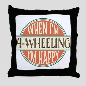4-Wheeling Gift 4-Wheeler Throw Pillow