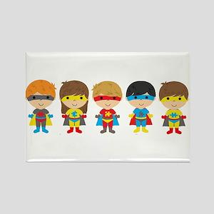 Autism Superheroes Magnets