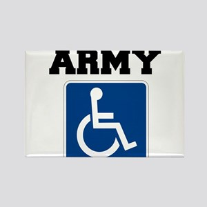 Army Handicapped Disabled Magnets