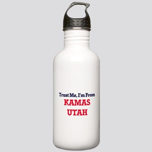 Trust Me, I'm from Kam Stainless Water Bottle 1.0L