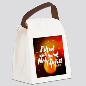 Filled Canvas Lunch Bag