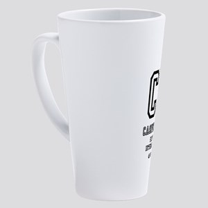 AIRPORT CODES - CPR - CASPER, WYOM 17 oz Latte Mug