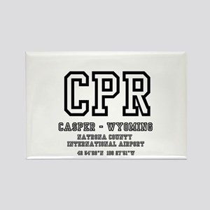 AIRPORT CODES - CPR - CASPER, WYOMING Magnets
