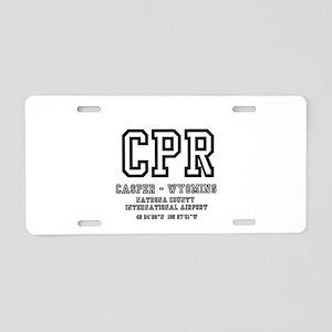 AIRPORT CODES - CPR - CASPE Aluminum License Plate