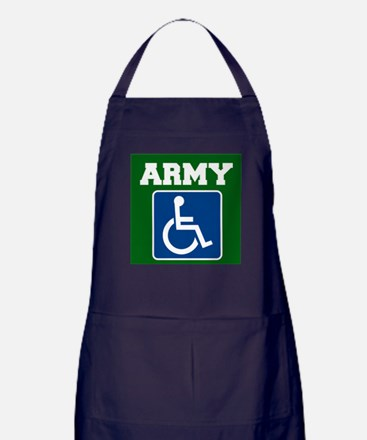 Army Handicapped Disabled Apron (dark)