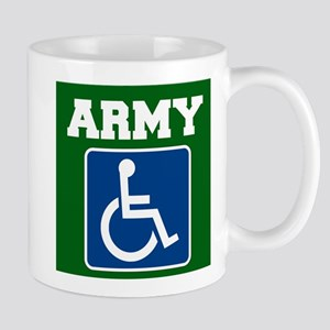 Army Handicapped Disabled Mugs
