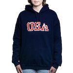 USA Women's Hooded Sweatshirt