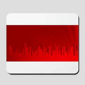 City Redscape Mousepad
