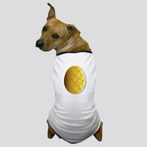 Cracked Golden Egg Dog T-Shirt