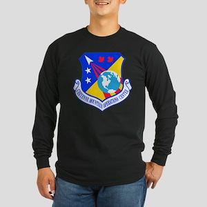 Cheyenne Mtn Ops Ctr Cres Long Sleeve Dark T-Shirt