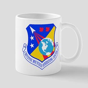 Cheyenne Mtn Ops Ctr Crest Mug Mugs